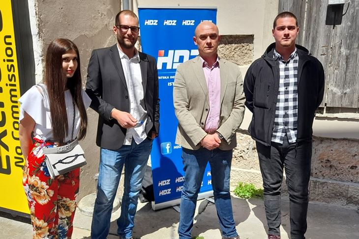 Sara Kristina Cvitanović, Juraj Kovačević, Mirko Jurkić i Toni Linč