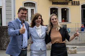 Danijel Ferić, Biljana Borzan i Sanja Radolović