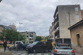 Nesreća na raskrižju Zagrebačke i Stankovićeve