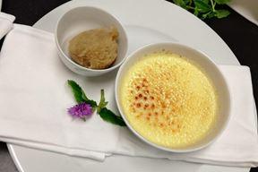 Creme brulee s lavandom (Foto: Strukovna škola Eugena Kumičića Rovinj - Scuola di formazione professionale Eugen Kumičić Rovigno)