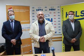 Zvonko Liović, Silvano Hrelja i Sandro Jurman (Snimila Doria Morohorvić)