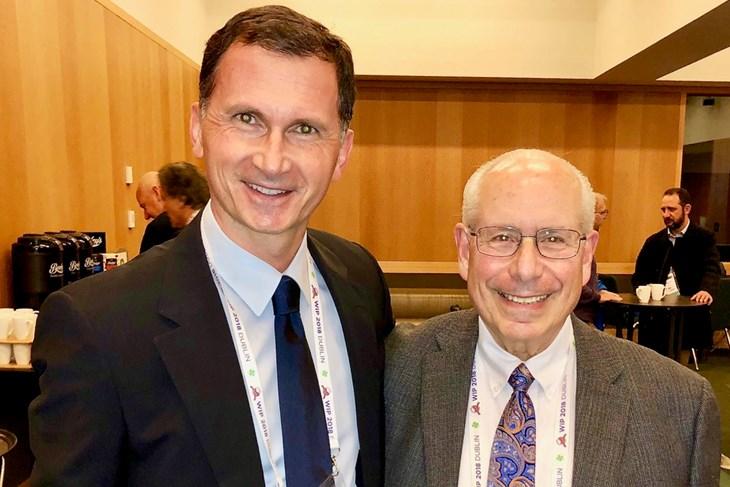 Prof.dr.sc. Dragan Primorac I Prof.dr.sc. Arnold Caplan, znanstvenik koji je još 1991. godine otkrio mezenhimalne matične stanice