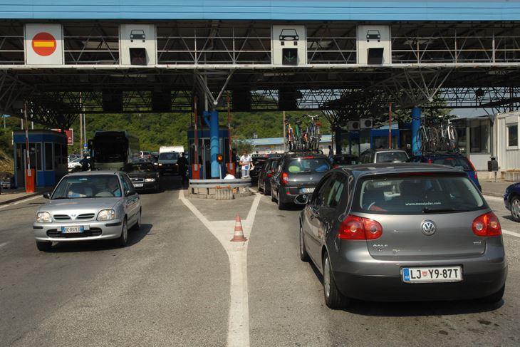 Granični prijelaz Kaštel (Snimio Milivoj Mijošek)