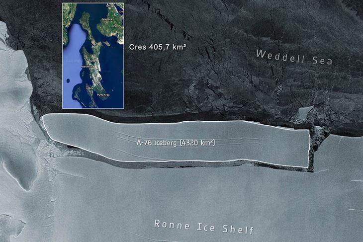 (Foto: ESA / Google Earth / Screenshot)