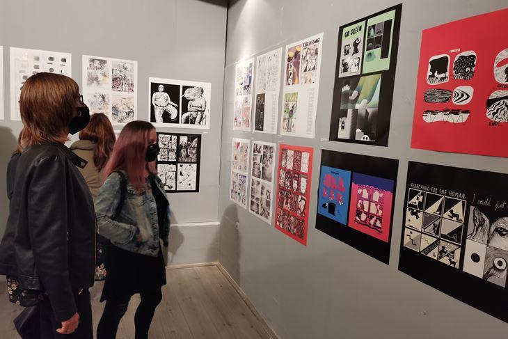 S otvorenja izložbe stripa