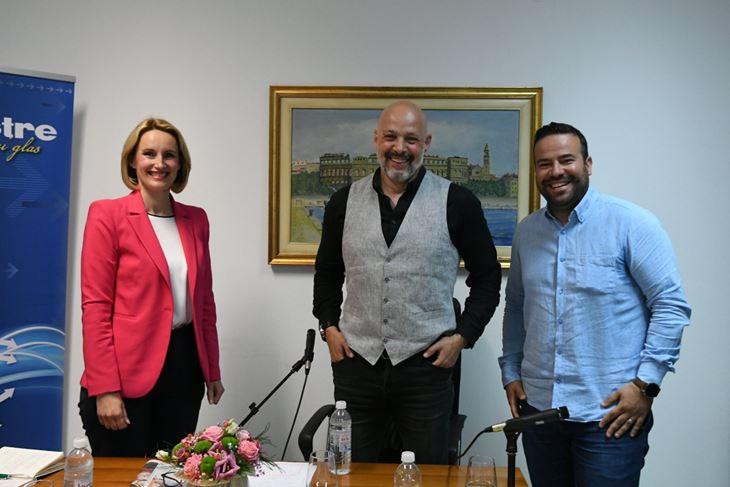 Elena Puh Belci, Robert Frank i Filip Zoričić