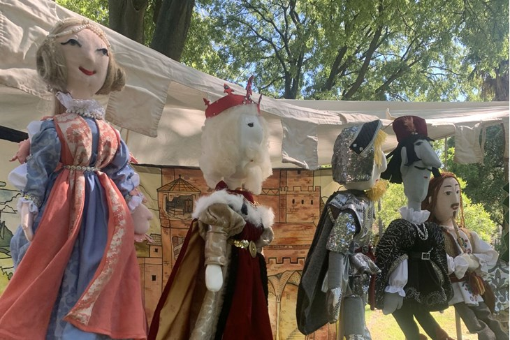 """""""Kraljeva kći"""" - lutkarska bajka s elementima zavičajnosti i povijesti (Foto: Udruga Merlin)"""