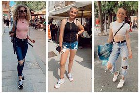 Tri modna uzorka