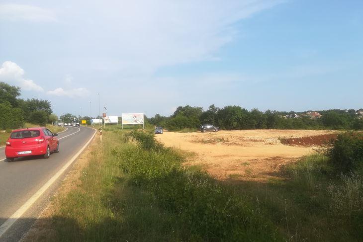 Lokacija potencijalne benzinske postaje u Žbandaju (A. DAGOSTIN)