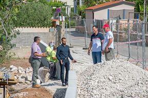 Novi gradonačelnik obilazio gradilišta