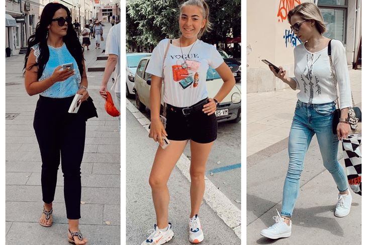 Tri današnje dame (s mobitelima)