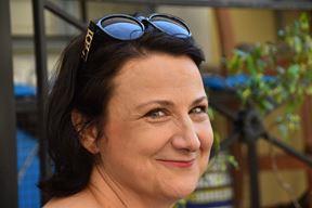 Dorta Jagić, svestrana spisateljica (Snimio Duško Marušić Čiči)