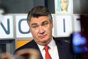 Predsjednik Republike Hrvatske Zoran Milanovic Foto: Goran Mehkek / CROPIX