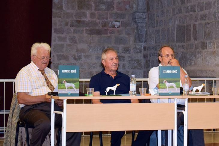 S lijeva urednici i nositelji projekta knjige: Emilio-Milan Uljančić, Anton Sladonja i Zlatan Varelija