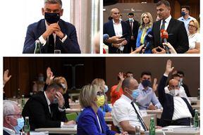 Boris Miletić, Danijel Ferić i glasanje na današnjoj sjednici