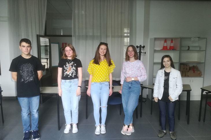Učenici koji su bili na državnim natjecanjima (SNIMIO: A. DAGOSTIN)