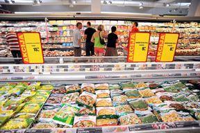 Ilustracija jedne akcije u trgovini (snimio S. DRECHSLER/NOVi LIST)