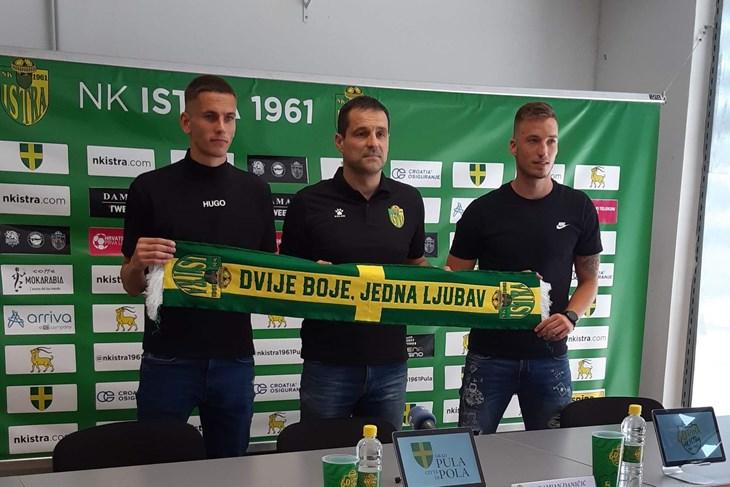 Damjan Daničić, Dario Dabac i Miroslav Iličić (Snimio Roberto Car)