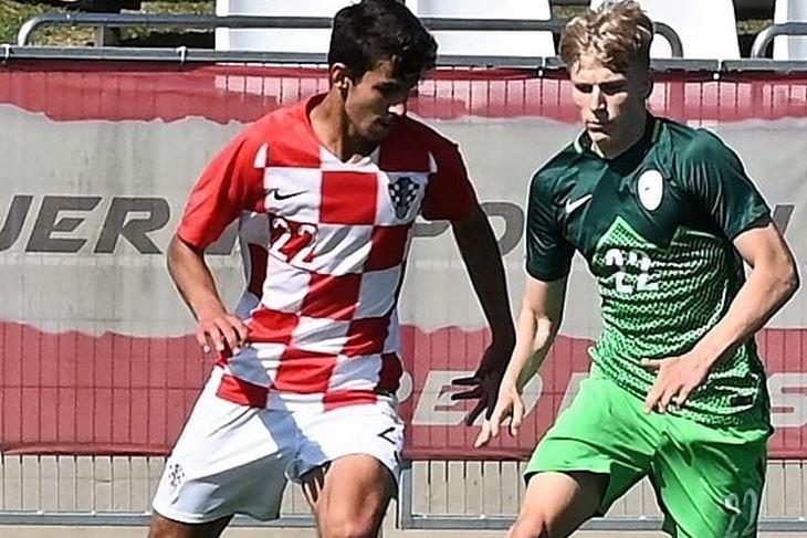 U dresu hrvatske reprezentacije - Mateo Tomić