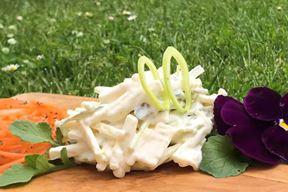 Osvježavajuća salata od poriluka i sira (Foto: Strukovna škola Eugena Kumičića Rovinj - Scuola di formazione professionale Eugen Kumičić Rovigno)