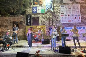 Zdenka Kovačiček i Greenhouse Blues Band (Foto Hrvatska glazbena mladež)