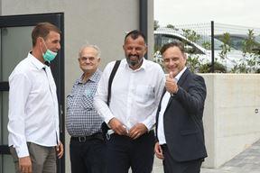 Mladen Grgeta i Anton Kliman (treći i četvrti s lijeva)