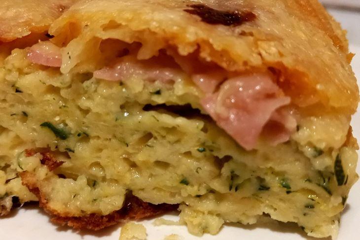 Brzinska pita od tikvica sa sirom i šunkom (Snimila Tea Tidić)