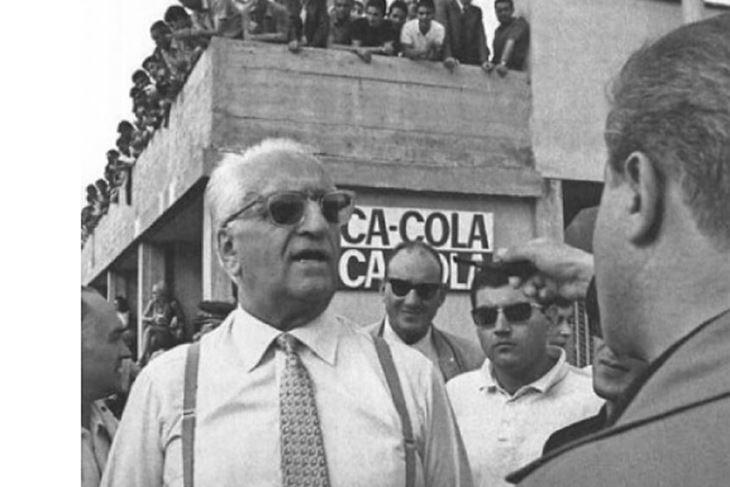 Foto: Enzo Ferrari, 1967., izvor Rainer Schlegelmilch/Wikimedia Commons