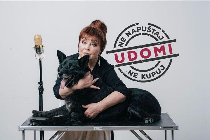 Zdenka Kovačiček u novoj kampanji Prijatelja životinja za udomljavanje pasa
