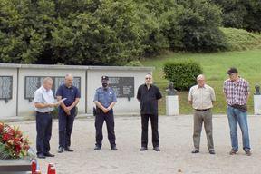 Komemoracija u buzetskom Spomen-parku (Snimila Gordana Čalić Šverko)