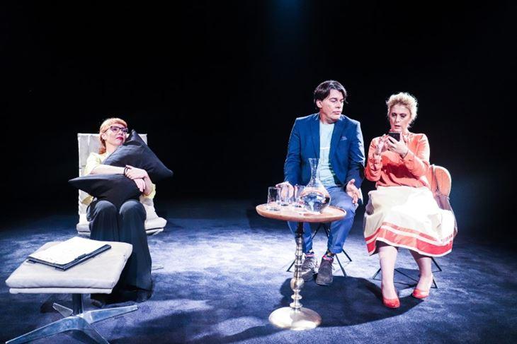 """Scena iz večerašnje predstave """"Čudesna terapija"""" (Foto: Kazalište Ulysses)"""