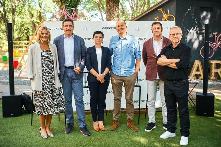 Weekend Media Festival: Nevena Rendeli, Božo Skoko, Kristina Miljavac, Tomo Ricov, Boris Kovaček i Mario Petrović