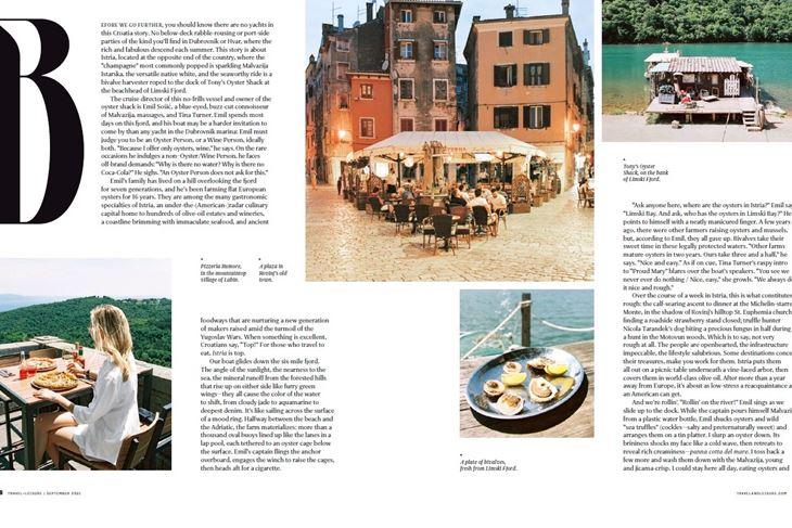 Erace opisuje Istru kao regiju izrazito bogate kulturne i prirodne baštine