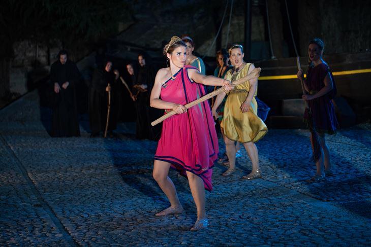 """Scena iz predstave """"Lysistrata 21"""" (Foto Tanja Draškić Savić/Arhiva)"""