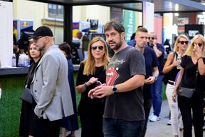 Vjerojatno najveća zvijezda na Weekendu bio je sve popularniji glumac Goran Bogdan (Snimio Dejan Štifanić)