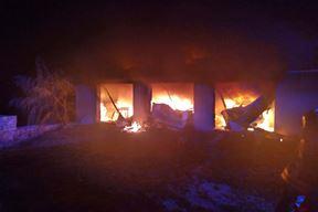 Požar je izazvao 25-godišnjak (Foto JVP Rovinj)