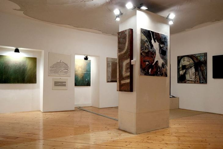 Prva izložba predstavlja radove dvadeset i jednog autora nagrađivanih radova (Snimio Luka Jelavić)