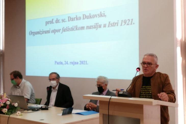 Anton Finderle, Josip Šiklić, Galiano Labinjan i Darko Dukovski
