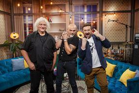 Bruno Langer, Pero Galić i Dalibor Petko (Foto Dalibor Petko Show)