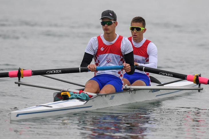 PETI U FINALU B - Lovre Puh i Niko Morić u dvojcu bez kormilara (Foto Word rowing)
