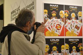 Slike s izložbe (Snimio Danilo Memedović)