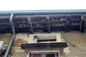 Prokišnjavanje krova u stanu na adresi Porta Stovagnana 9 (Snimio Dejan Štifanić)