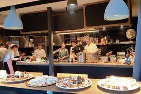 Edukacijska kuhinja KEYQ+ projekta - gastro punkt na prvom katu pulske tržnice