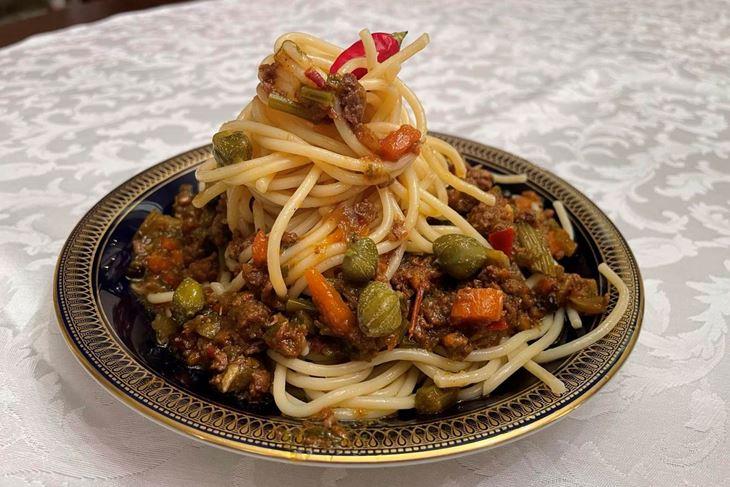 ŠKOLA KUHANJA BY THE OUTLAW CHEF: Spaghetti Brionez