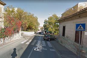Križanje Radićeve i Mažuranićeve ulice (Google maps)