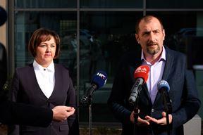 Sandra Ćakić Kuhar i Dalibor Paus (snimio M. MIJOŠEK)
