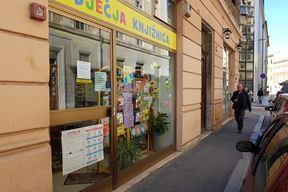 Dječja knjižnica u Smareglinoj ulici (Snimila Mirjana Vermezović Ivanović)