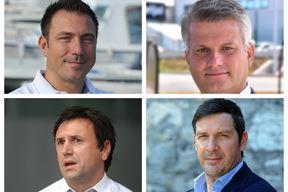 Vjekoslav Jozanović, Aleksandar Matić, Dalibor Suljević i Igor Stari