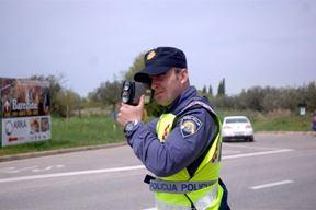 Kontrola brzine  (Foto: PU Istarska)