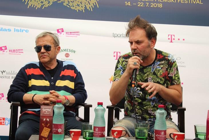 Emir Hadžihafizbegović i redatelj Elmir Jukić (F. ŠKATAR)